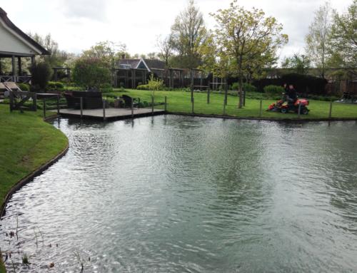 Aanleg Zwemvijver 400m3 in Woerden