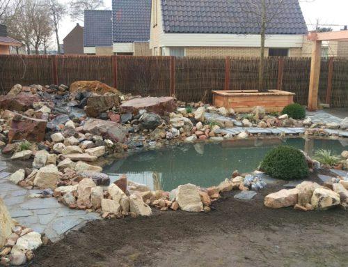 Renovatie koivijver 23 kuub in Maasdijk