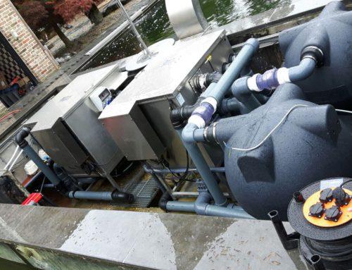 Renovatie Filterput 100 kuub in België