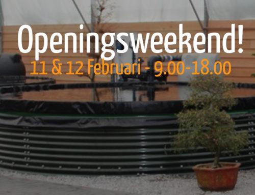 Koishop openingsweekend! 11& 12 februari 2017